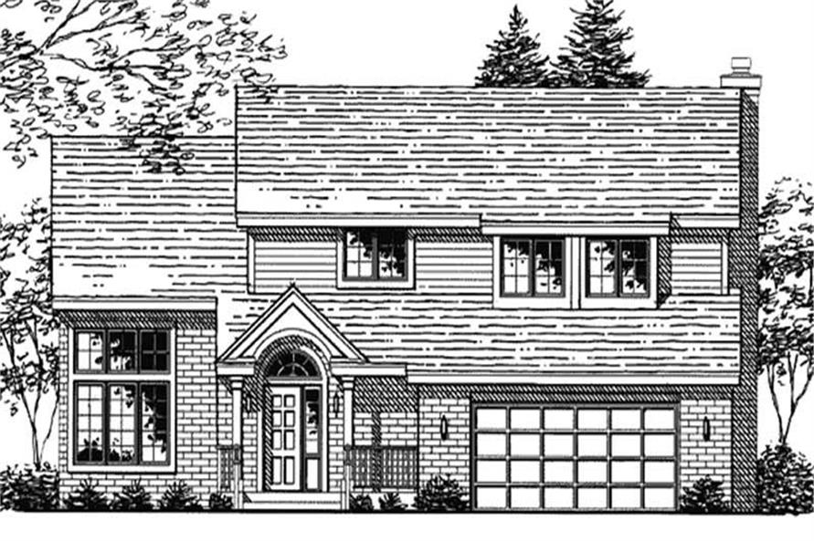 Main image for house plan # 20708