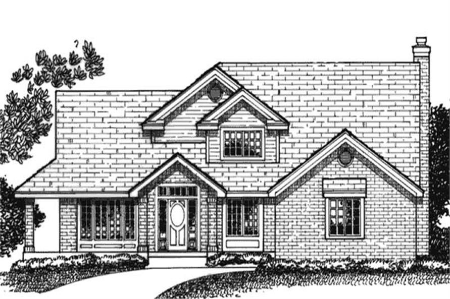 Main image for house plan # 20707
