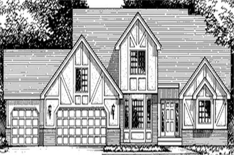 Main image for house plan # 20999