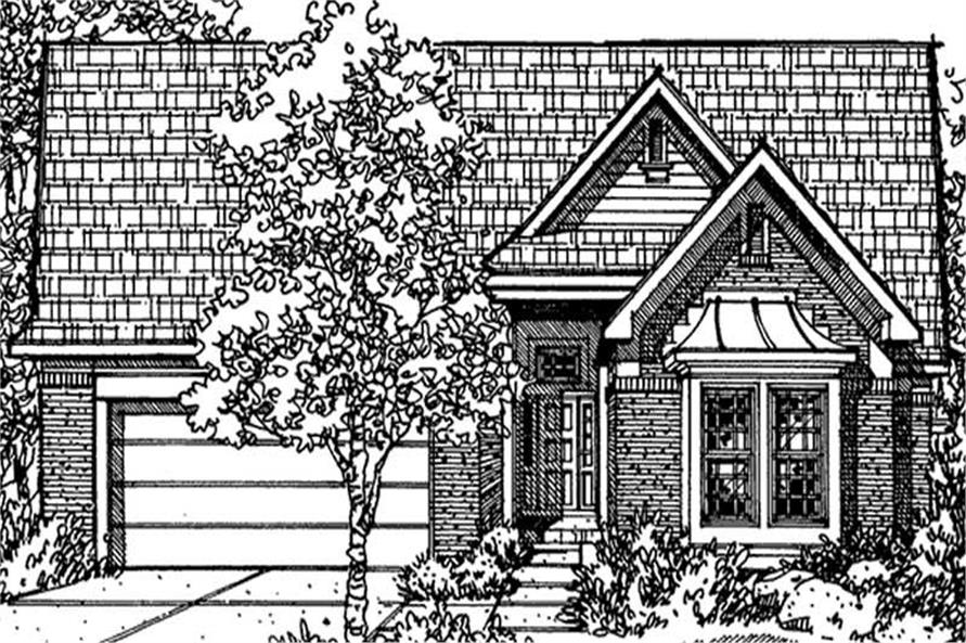 Main image for house plan # 21369