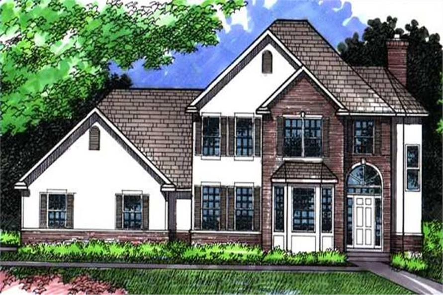 Main image for house plan # 21069