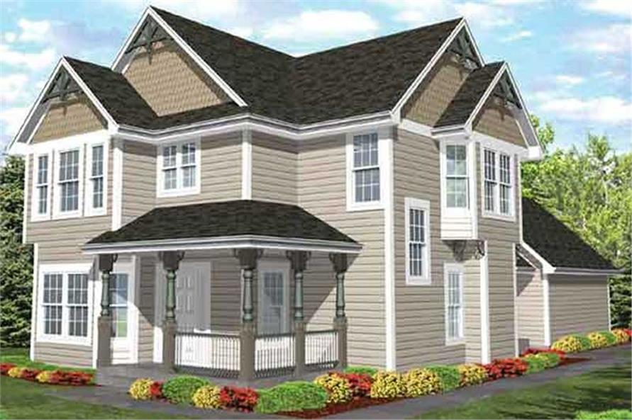 Main image for house plan # 20669