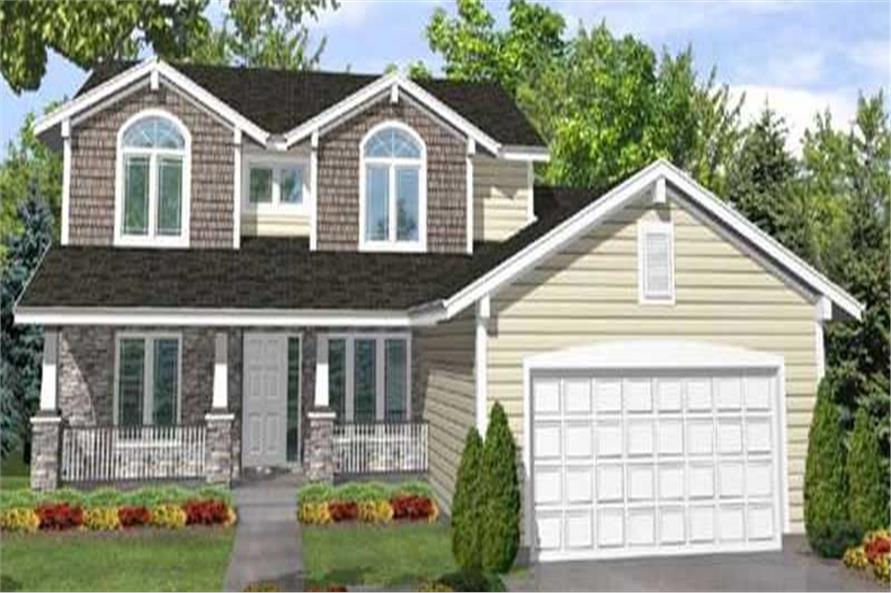 Main image for house plan # 20658