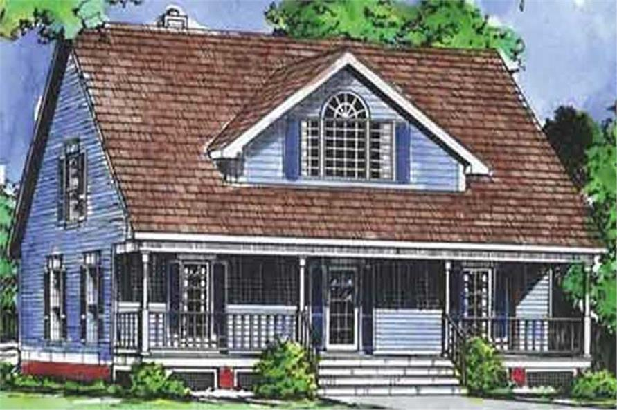 Main image for house plan # 20674