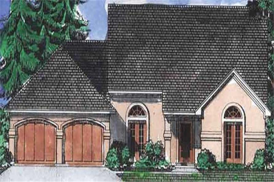 Main image for house plan # 20676