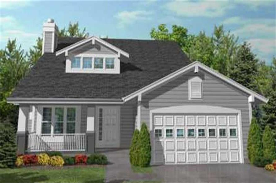 Main image for house plan # 20605