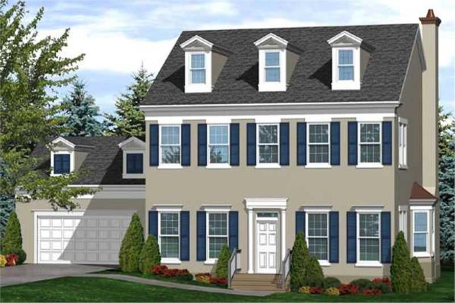 Main image for house plan # 20596