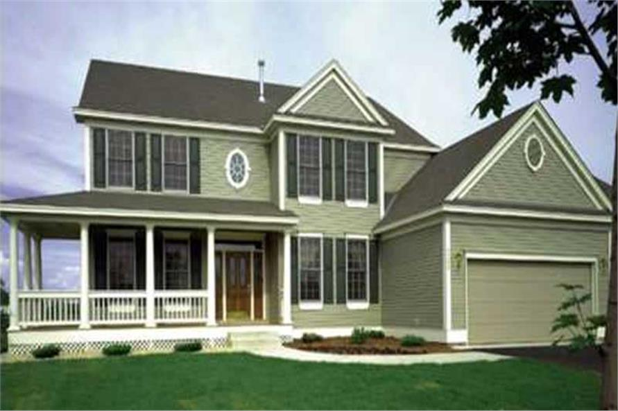 Main image for house plan # 21072