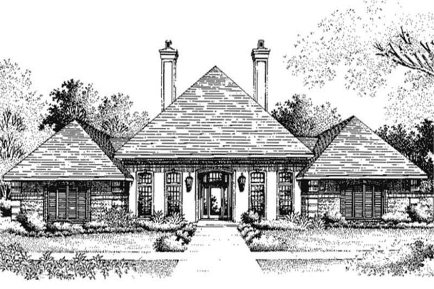Main image for house plan # 20684