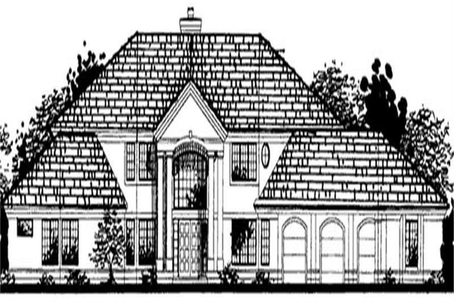 Main image for house plan # 20695