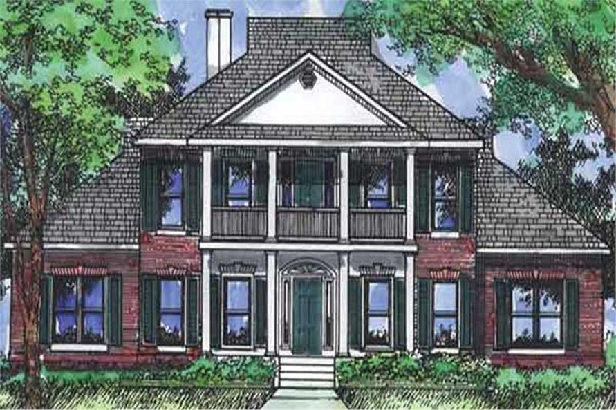 Main image for house plan # 20688