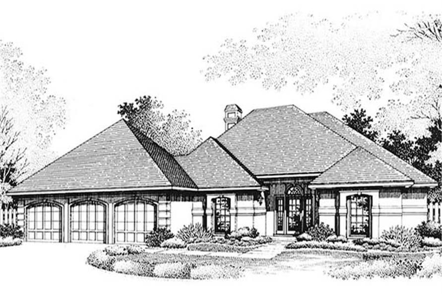 Main image for house plan # 20673