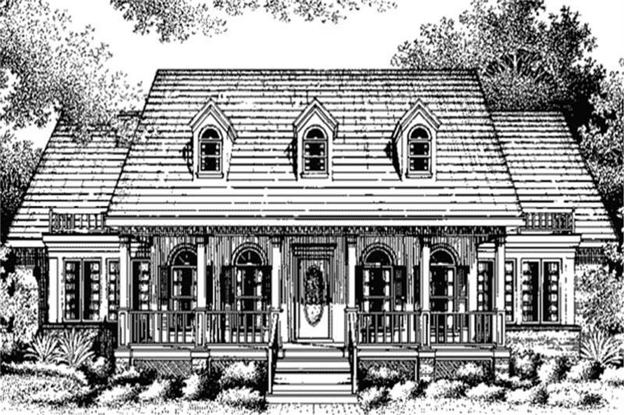 Main image for house plan # 20682