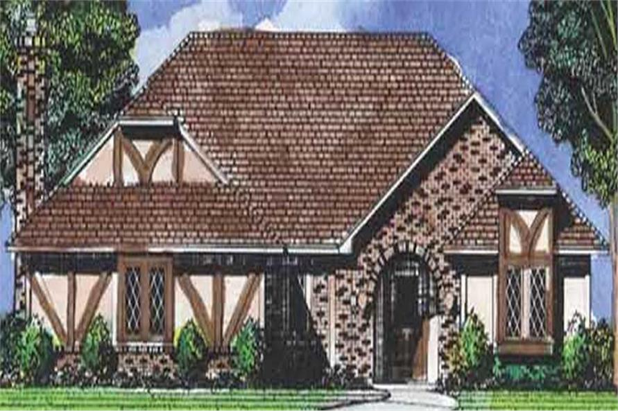 Main image for house plan # 20681