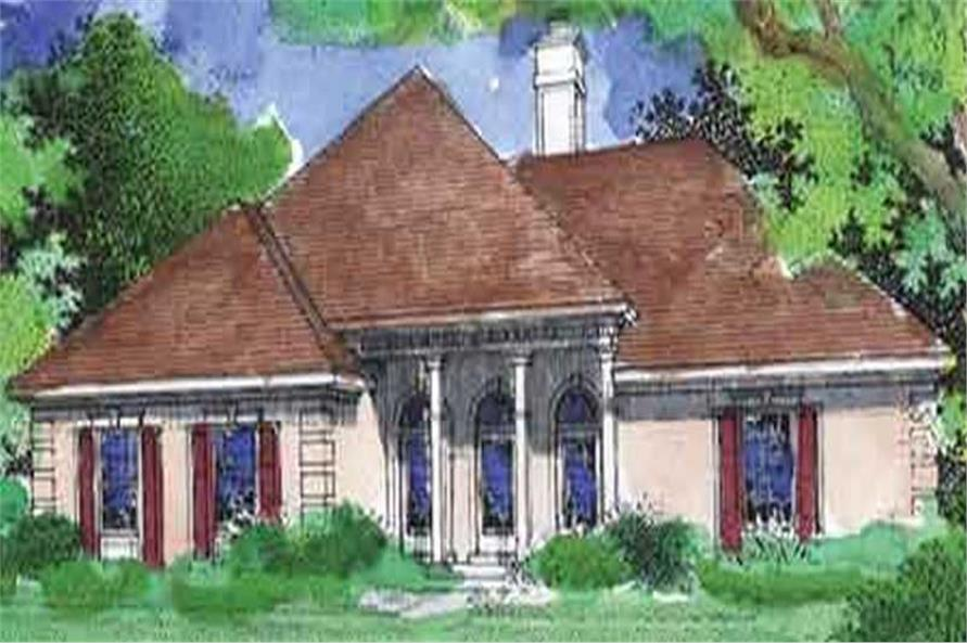 Main image for house plan # 20679