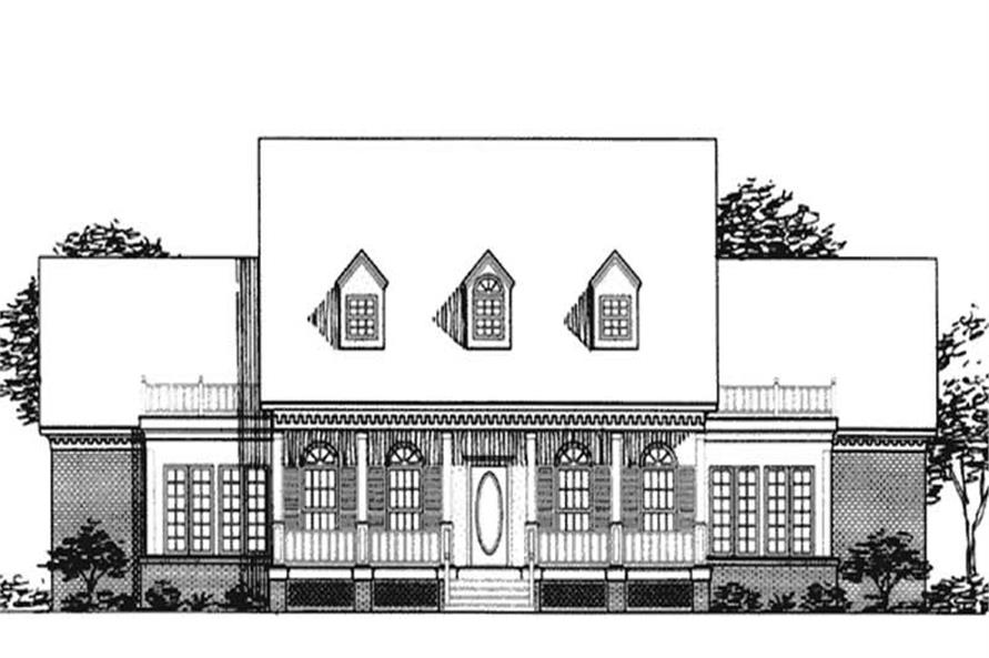 Main image for house plan # 20677