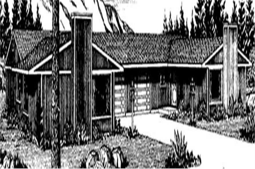 Main image for house plan # 21254