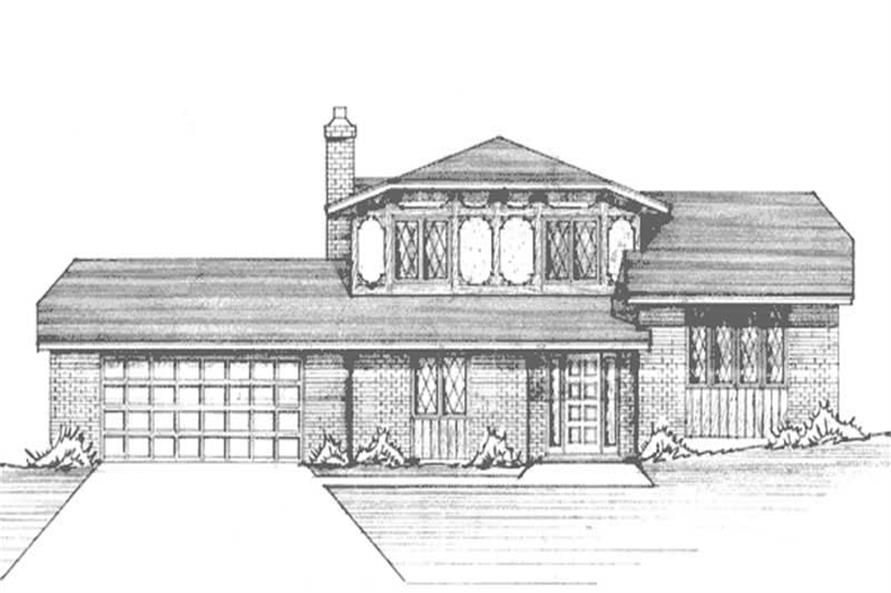 Main image for house plan # 21264