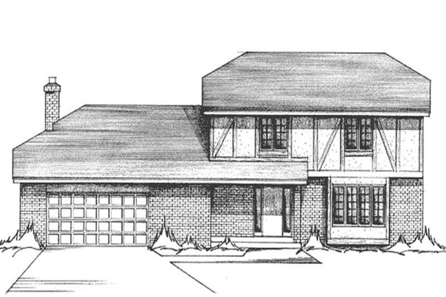 Main image for house plan # 21283