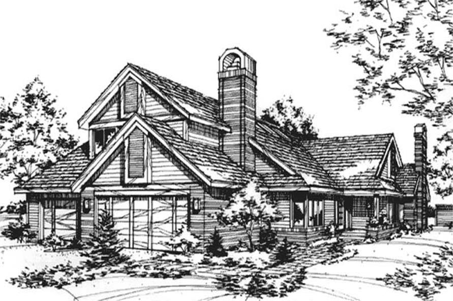Main image for house plan # 21413