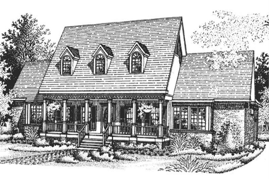 Main image for house plan # 21295