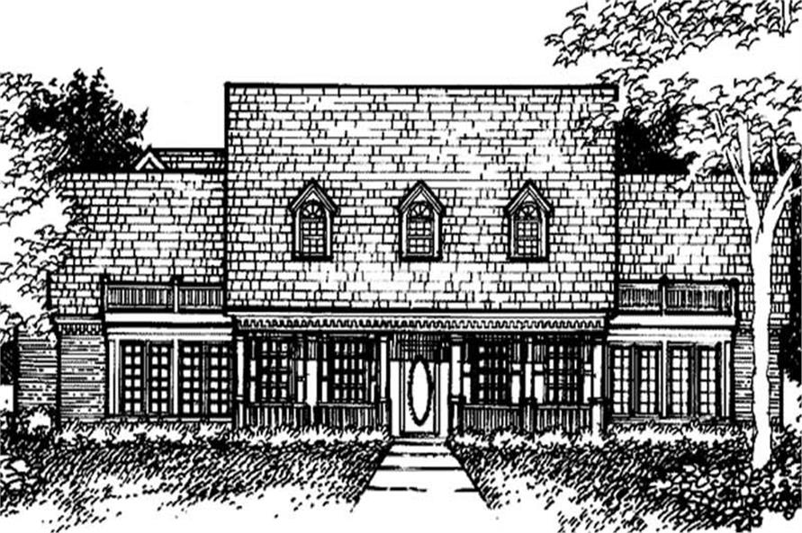 Main image for house plan # 21293