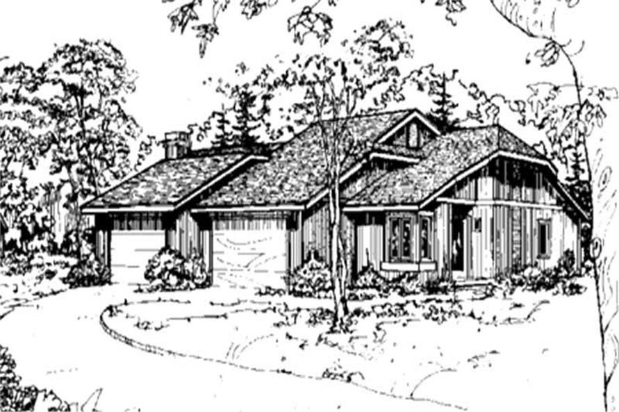 Main image for house plan # 21478
