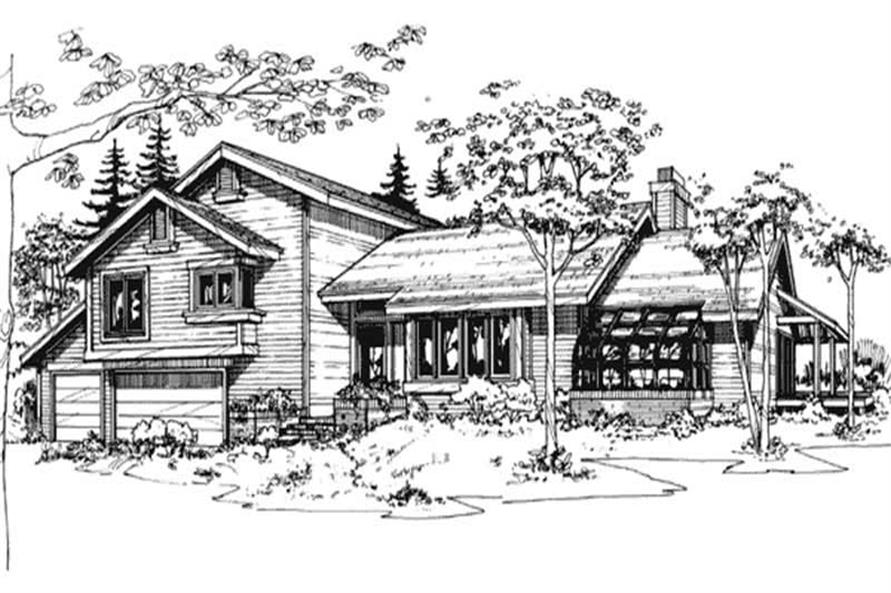 Main image for house plan # 21442