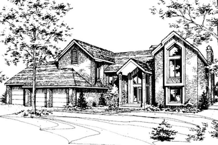 Main image for house plan # 21434