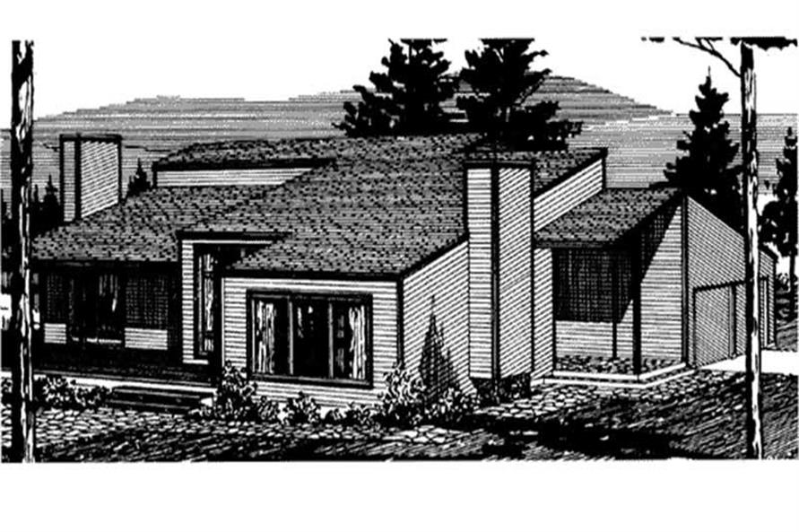 Main image for house plan # 21313