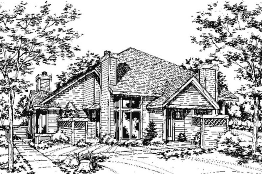 Main image for house plan # 21416