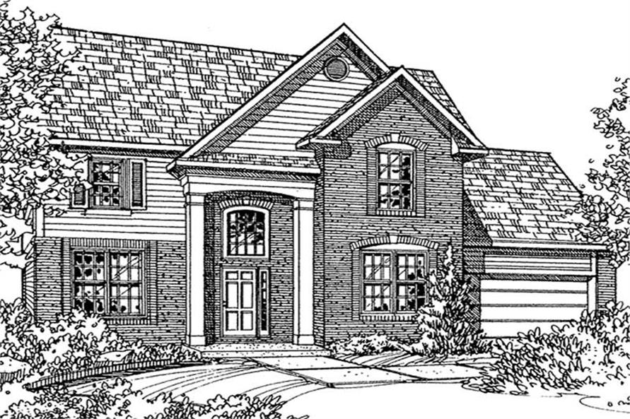 Main image for house plan # 21351