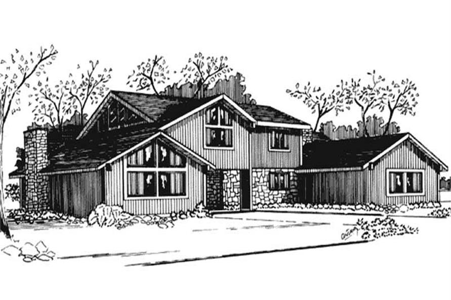 Main image for house plan # 21268
