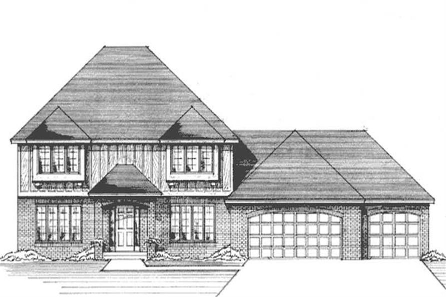 Main image for house plan # 21249