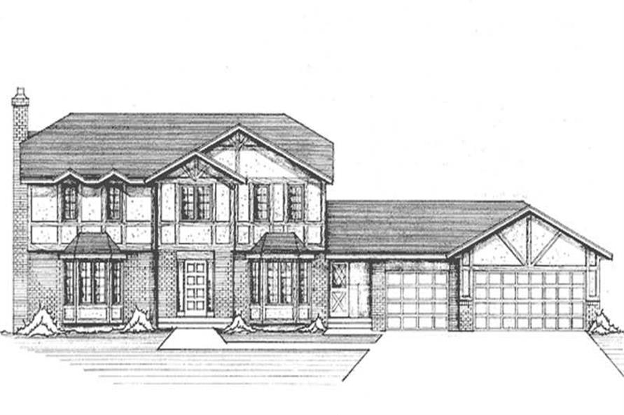 Main image for house plan # 21266