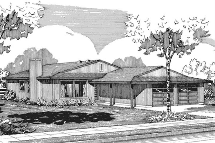 Main image for house plan # 21270