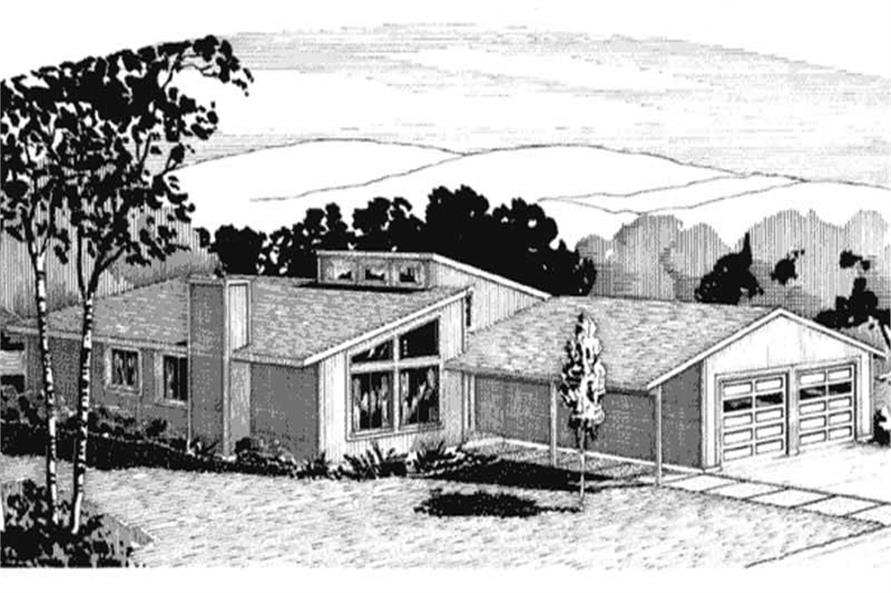Main image for house plan # 21276