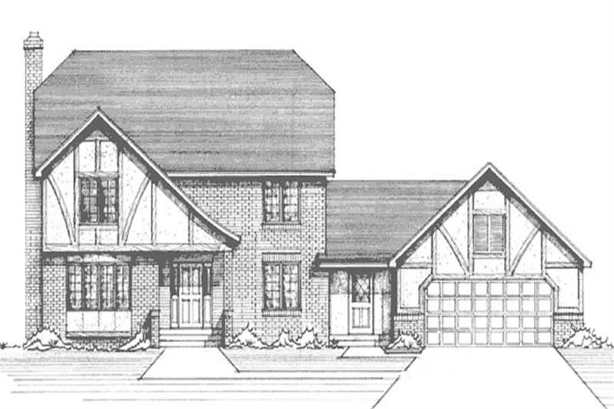 Main image for house plan # 21279