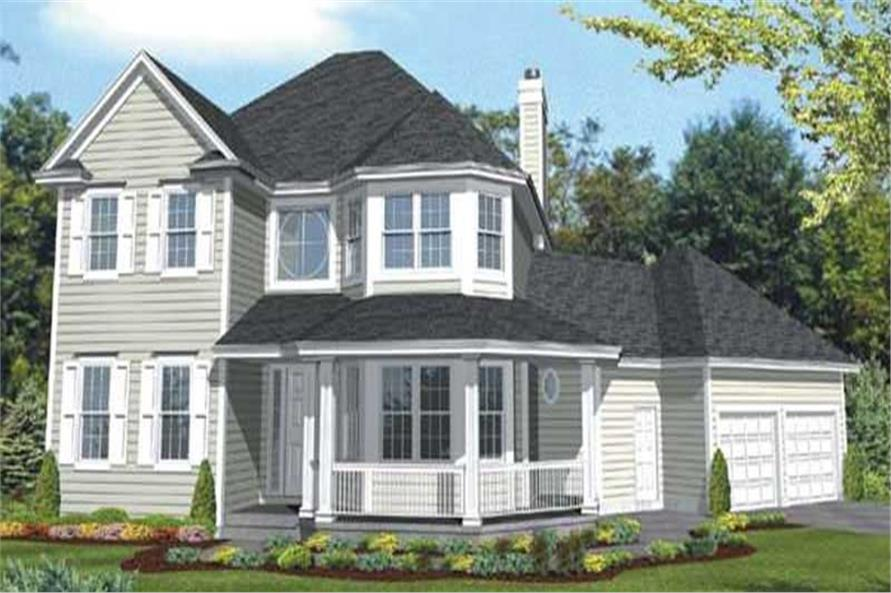 Main image for house plan # 20666
