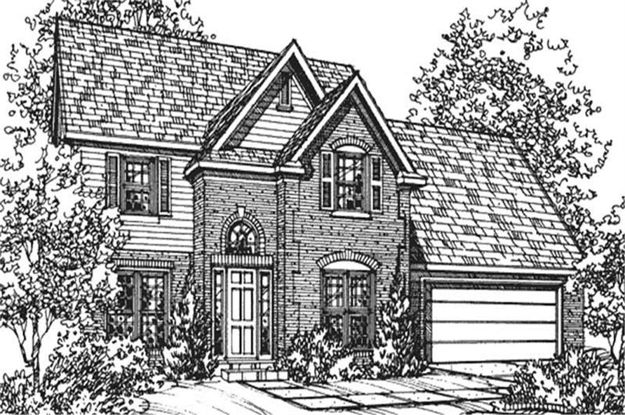 Main image for house plan # 21356