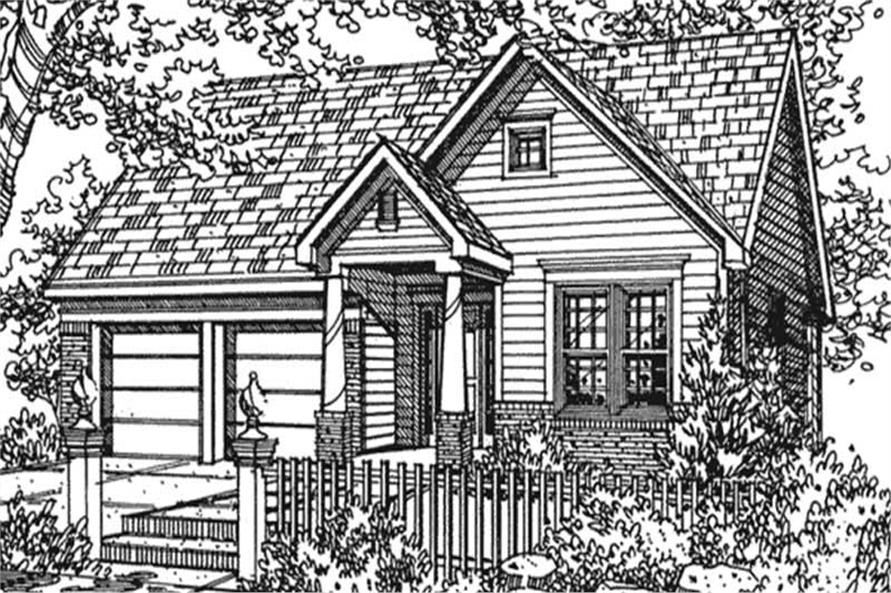 Main image for house plan # 21358