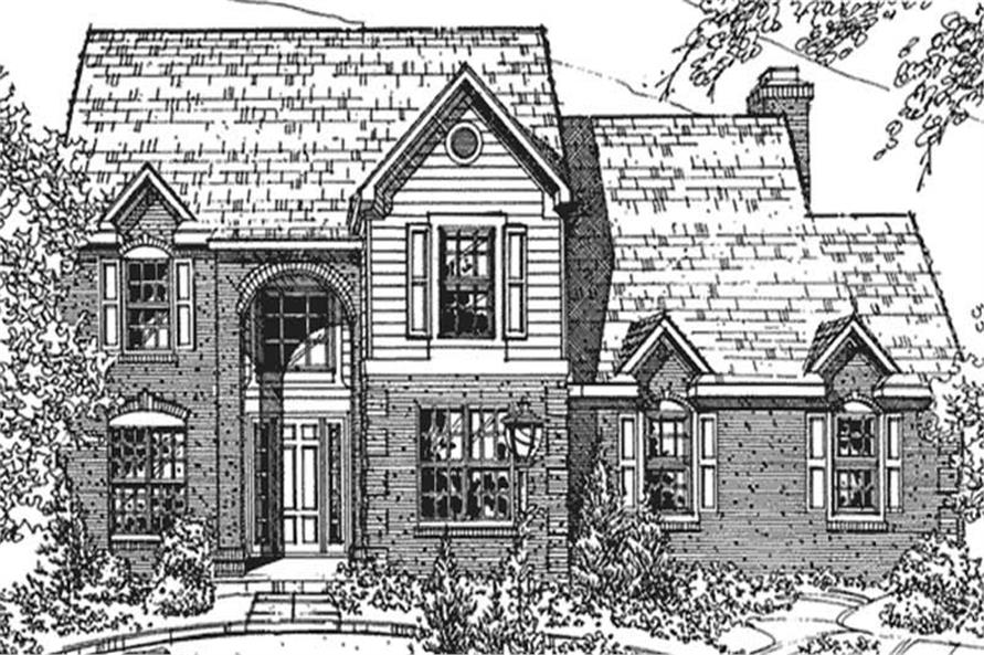 Main image for house plan # 21360
