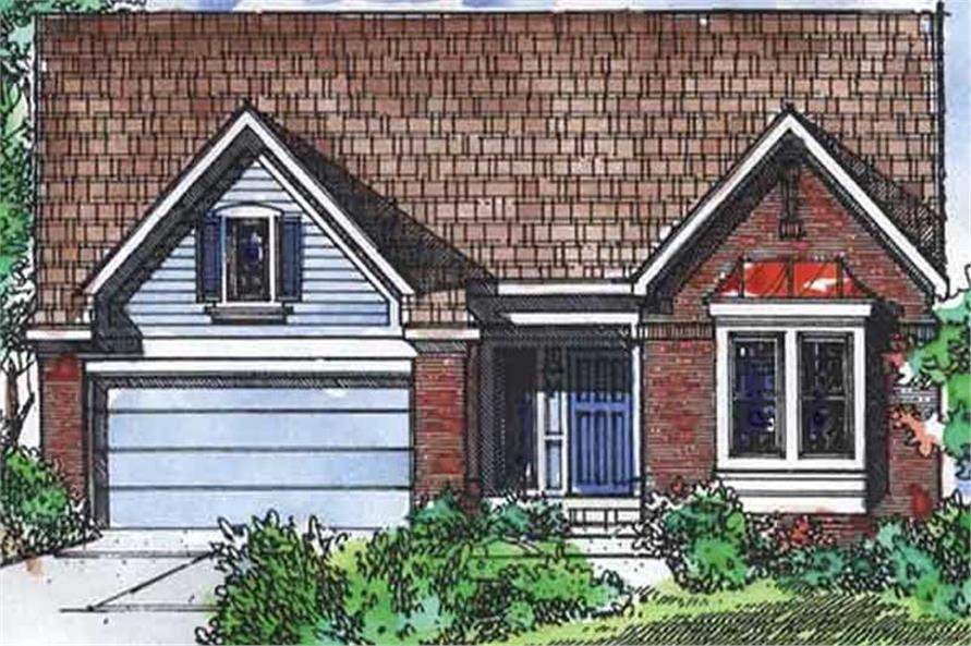Main image for house plan # 21368