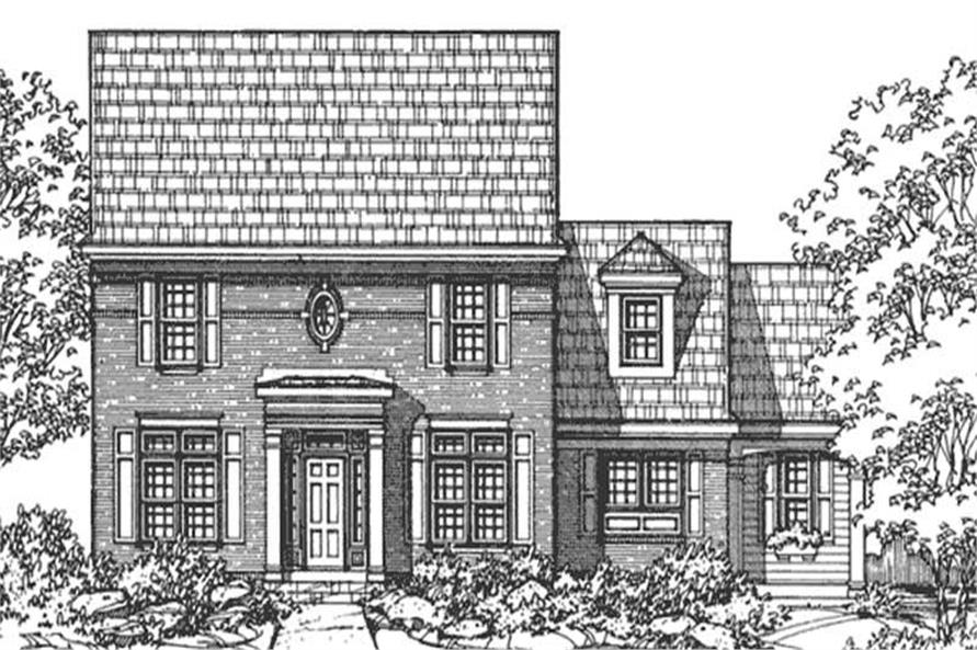 Main image for house plan # 21370