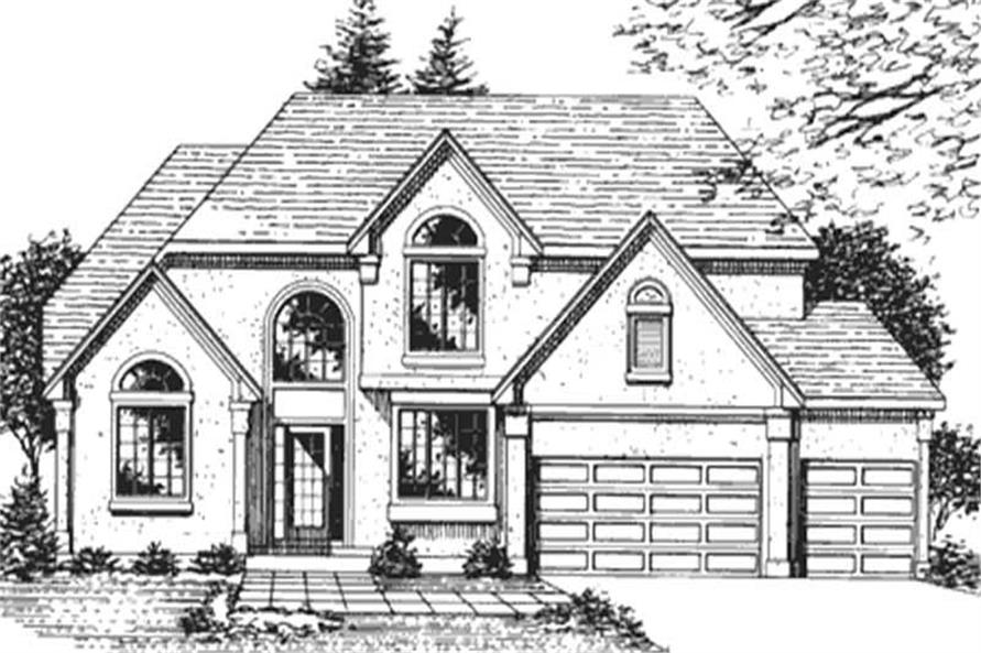 Main image for house plan # 21371