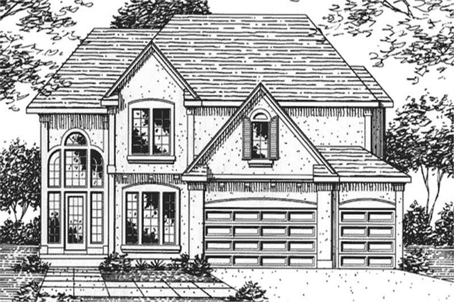 Main image for house plan # 21372