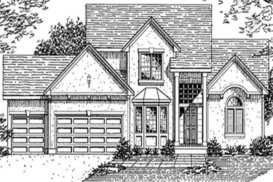 Main image for house plan # 21373