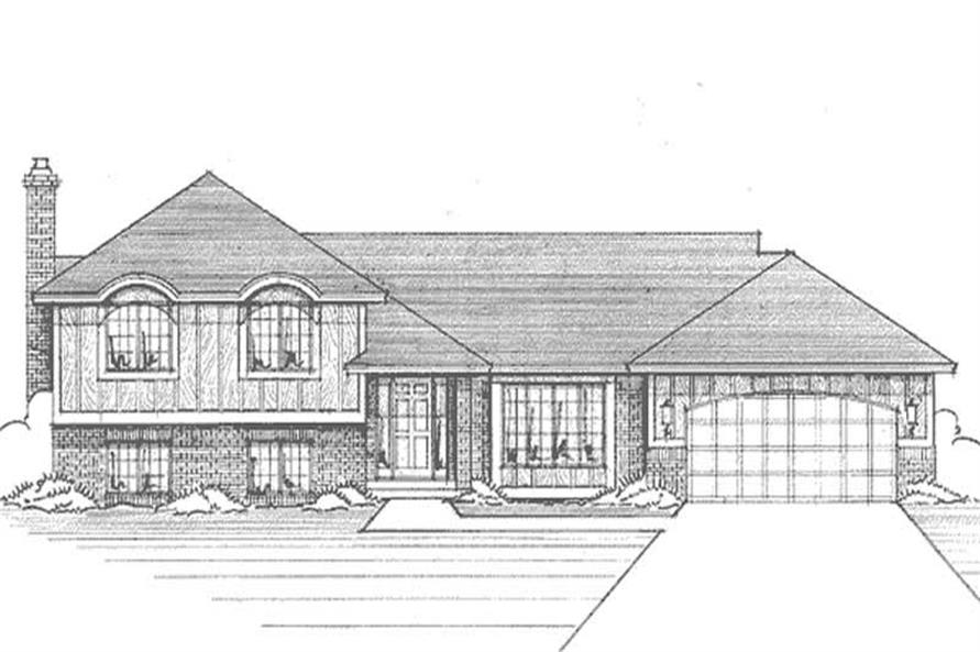 Main image for house plan # 21176