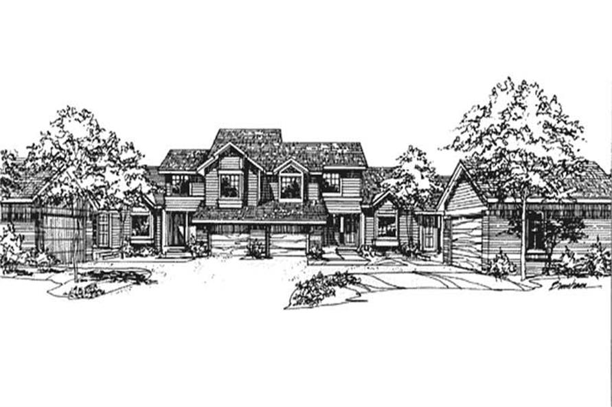 Main image for house plan # 21500