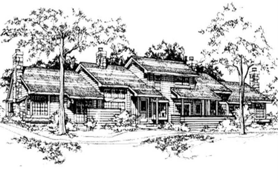 Main image for house plan # 21490